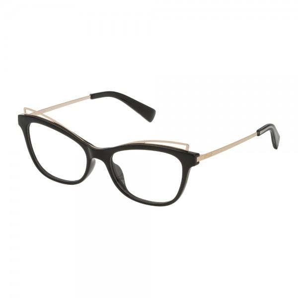 occhiali-da-vista-sting-topic-1-vst232w-z42y-52-17-140-donna-nero-lucido-totale