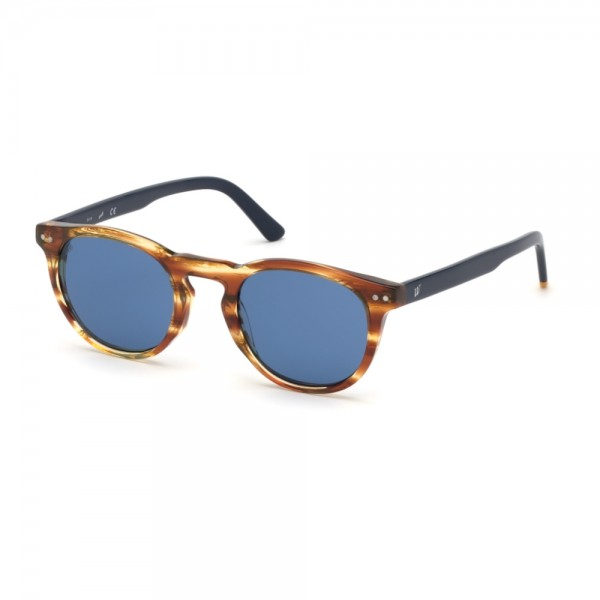 occhiali-da-sole-web-we0251-s-41v-49-23-145-unisex-avana-chiaro-lenti-blu
