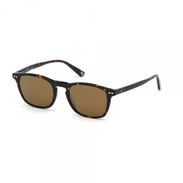 occhiali-da-sole-web-we0265-s-52g-50-20-145-unisex-avana-scuro-lenti-marrone-specchiato