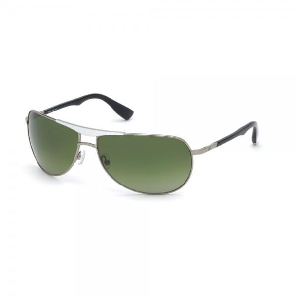 occhiali-da-sole-web-we0273-s-14r-66-14-125-unisex-rutenio-chiaro-lucido-lenti-verde-polarizzato