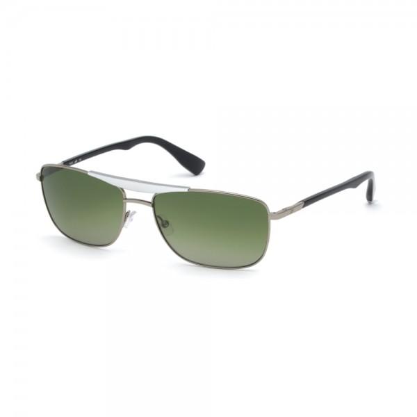 occhiali-da-sole-web-we0274-s-14r-60-16-140-unisex-rutenio-chiaro-lucido-lenti-verde-polarizzato
