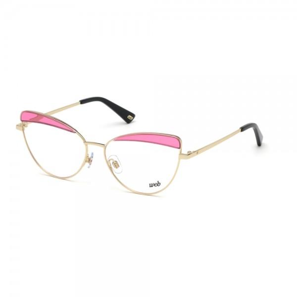 occhiali-da-vista-web-we5284-032-56-14-140-donna-oro-pallido